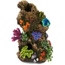 Top Fin Coral with Plants Aquarium Ornament PetSmart