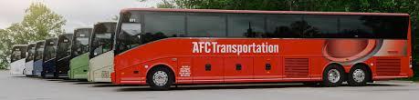 Full Service Texas Charter Bus Rental Afc Transportation