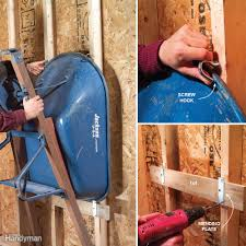 11 easy garage space saving ideas family handyman
