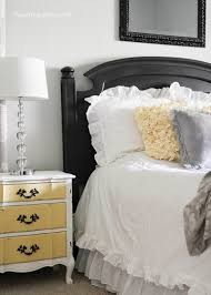Yellow And Gray Bedroom by I Love The Night Stand I U0027m In Love With A Grey And Yellow Color