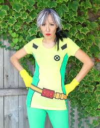 Rogue Halloween Costume Rogue Men Makeup Mugeek Vidalondon