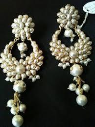 buy pearl heavy earring online