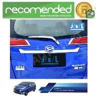 Daihatsu Sigra Trunk Lid Cover Chrome jual aksesoris daihatsu sigra trunk lid murah dan terlengkap