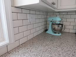 grey subway tile grout color floor decoration