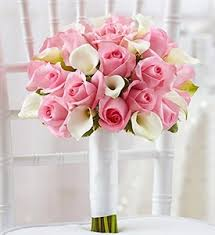 Wedding Flowers Pink Bouquets