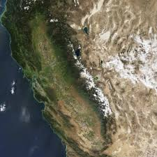 United States Snow Map by Diminished Snow Pack In The Sierra Nevada Image Of The Day