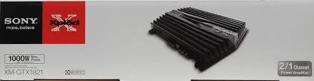 sony xplod gtx xm gtx1821 1 000w amplifier walmart com