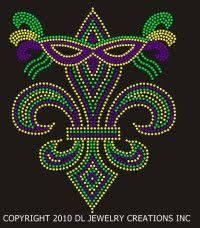 rhinestone mardi gras mask bling glitter motifs mardi gras mask wholesale hot fix rhinestone