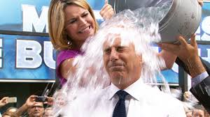 Challenge Water On Matt Lauer Follows Through With Challenge Calls Out