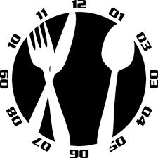 couverts cuisine sticker horloge couverts cuisine tenstickers