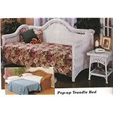 white wicker daybed bedding