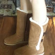 womens fashion boots target s kallima suede shearling boot from target