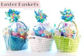 basket easter kid s easter basket ideas the gunny sack