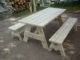 8 Ft Picnic Table Plans Free by Cedar Picnic Tables Free Shipping