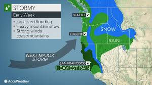 Portland Flooding Map by Flooding Feet Of Snow And High Winds To Threaten Northern