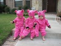 Pig Toddler Halloween Costume Pigs Costume Seesalsew Etsy 40 00