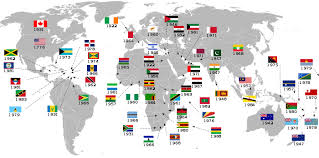 list of countries that gained independence from the united