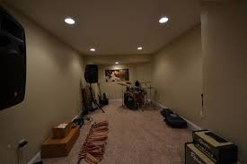 studio designs interior small home music studio design with white curtain and