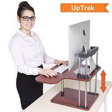 Convert Normal Desk To Standing Desk Best 25 Stand Up Desk Ideas On Pinterest Portable Computer Desk
