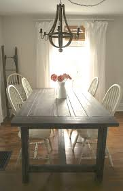 farmhouse table makeover nest of bliss diy rustic farmhouse table makeover nest of bliss