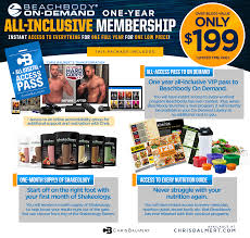 All Access Beachbody On Demand Pack Chrisbalmert Com