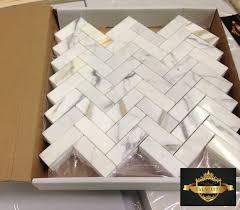 Herringbone Marble Backsplash by 26 Best Calacatta Gold Italian Marble Images On Pinterest