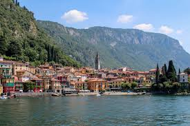 Lake Como Italy Map Ferry On Lake Como Italy Between Bellagio Varenna U0026 Menaggio Via