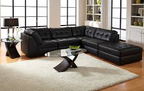 Modular Sofa Pieces by Aventura Leather Collection Value City Furniture 5 Pc Sectional