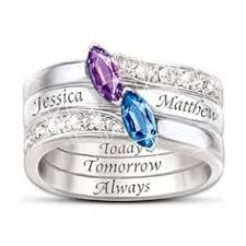 stackable engraved mothers rings jewelry rings choose jewelry rings for women today