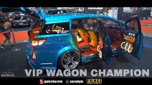 toyota international toyota wish vip wagon champion bangkok international auto salon