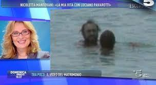 nicoletta mantovani sclerosi multipla nicoletta mantovani intervista domenica live luciano pavarotti