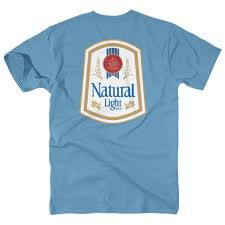 natty light t shirt natty light vintage logo rowdy gentleman