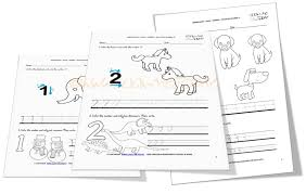 numbers worksheets for kindergarten numbers 1 10