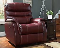 Brown Leather Reclining Sofa by Power Sofas Loveseats And Recliners Ashley Furniture Homestore