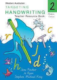 targeting handwriting wa teacher resource book year 2 pascal
