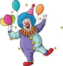wedding invitation clown birthday greeting card vector show clowns
