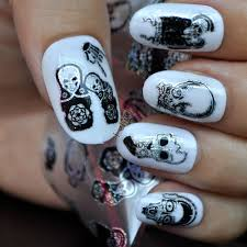 compare prices on skull nail designs online shopping buy low