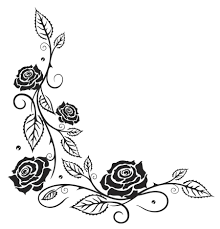 black rose vine tattoo designs pictures to pin on pinterest