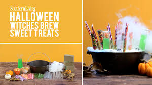 how to make witches brew candy display halloween decoration