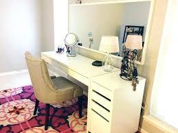 ikea makeup organizer rustic desk upgrade hackers desk organizer ikea rustic desk upgrade