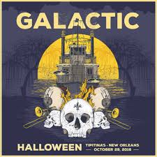 galactic announce halloween show in new orleans