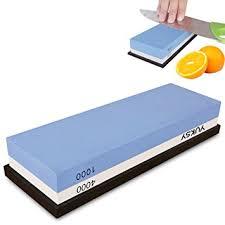 best sharpening stones for kitchen knives amazon com premium knife sharpening 2 side 1000 4000 grit