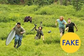 Running Bear Meme - behind the scenes of behind the scenes at national geographic