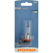 automotive light bulb sizes sylvania h11 basic halogen pack of 1 h11bp advance auto parts