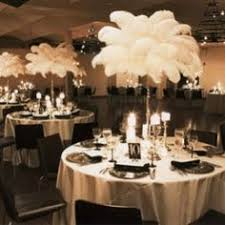 Centerpiece With Feathers by Stunning Centerpiece For A Winter Wonderland Party Wedding Gala