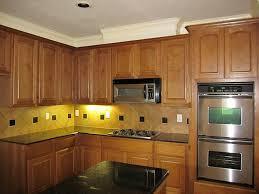Under Cabinet Kitchen Lighting Ideas by Minimalist Rustic Kitchen Interior Design With Fresh Under Cabinet