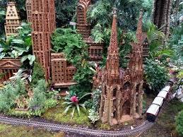 Botanic Garden Bronx by Holiday Train Show Bronx Botanical Garden New York City Youtube