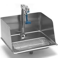 t s brass commercial kitchen faucets t s brass b 1235 water station with splash guard glass filler