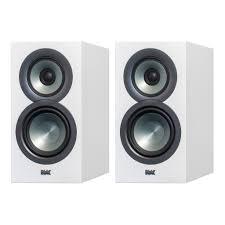 elac uni fi bs u5 slim 5 1 4 u201d bookshelf speakers white bsu5 sw