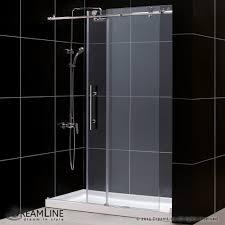 60 Shower Doors Bath4all Dreamline Dl 6620c 07cl Enigma X Frameless Sliding